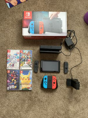 Nintendo switch package for Sale in Surprise, AZ