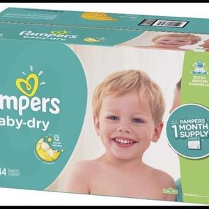 Pampers Baby dry Size 6 Diapers-pañales for Sale in Downey, CA