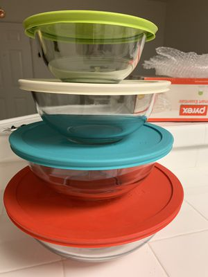 Pyrex glass bowls set for Sale in Irvine, CA