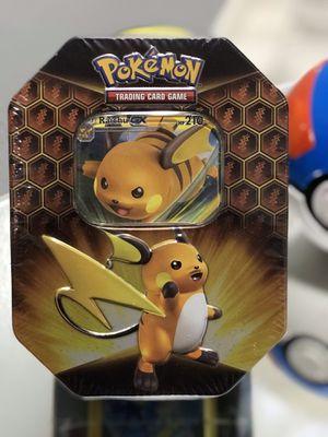 Hidden Fates Raichu GX Tin Pokemon Cards for Sale in Orlando, FL