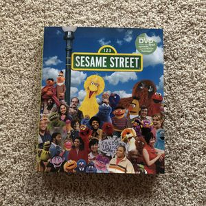 Hard Cover Book And DVD - Sesame Street: A Celebration - 40 Years Of Life On The Street for Sale in Marietta, GA