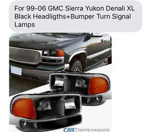 GMC Sierra pk 99-06 new headlights for Sale in Hayward, CA