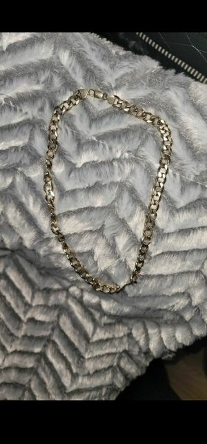 Plated gold men chain for Sale in Bell Gardens, CA