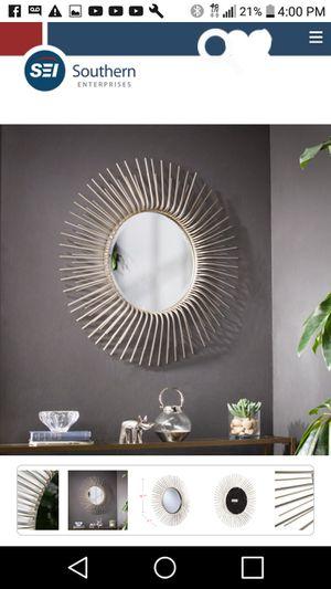 Trevella sunburst oversized wall mirror for Sale in Horn Lake, MS