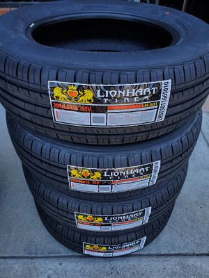 205 65 16 LIONHART TIRES for Sale in Rancho Cucamonga, CA