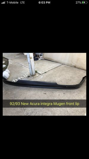 New92-93 Acura Integra MUGEN front lip for Sale in San Diego, CA