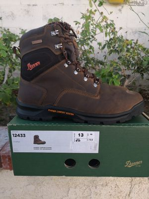 Brand new danner soft toe work boots size 13 for Sale in Riverside, CA