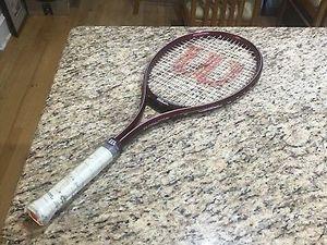 Wilson Pro 95 Tennis Racket 4.25 Nwt Vintage Wine Burgundy for Sale in Atlanta, GA