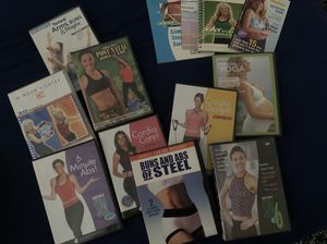 Exercise and yoga DVD's and more for Sale in Chula Vista, CA