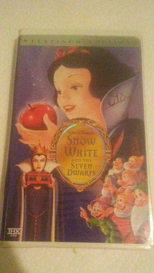 "Walt Disney's ""Snow White and the Seven Dwarfs"" Platinum Edition for Sale in Ada, OK"