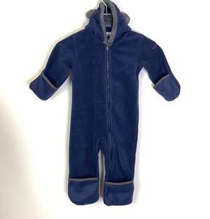 Columbia Blue Fleece Snowsuit Size 18-24M for Sale in North Las Vegas, NV