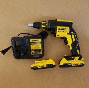 New Drywall Screwgun Dewalt whit (2) Batteries 2.0AH and Charger FIRM PRICE for Sale in Woodbridge, VA