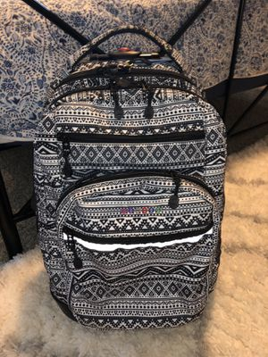 Great Rolling backpack with many pockets and carrying space for Sale in Monroe, WA