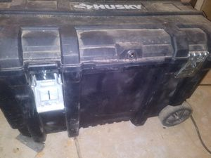 Husky 50 gallon tool chest for Sale in Phoenix, AZ