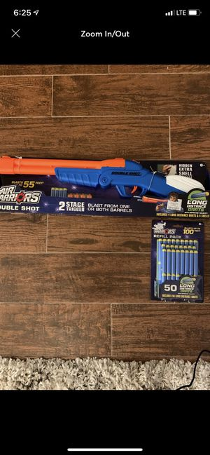 Air Warriors Double Shot with Extra Ammo Combo Pack for Sale in TWN N CNTRY, FL