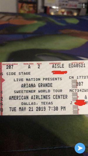 Ariana grande 2 tickets for Sale in Dallas, TX
