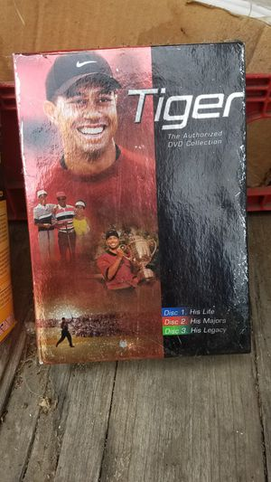 Tiger Wood DVDs for Sale in Whittier, CA