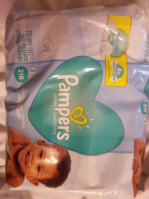 Pampers refill wipes NEW for Sale in Fremont, CA