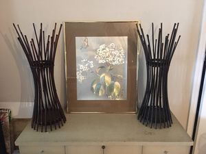 Bamboo candle holder center pieces for Sale in Orlando, FL