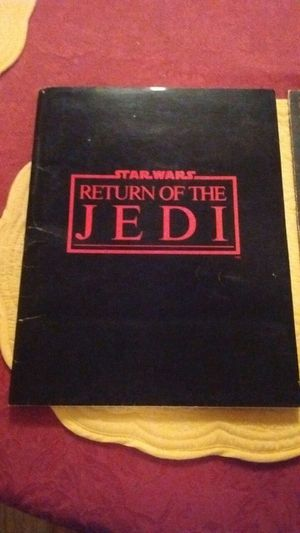 Star wars Return of the Jedi movie manuscript (original) $150 firm for Sale in Durham, NC