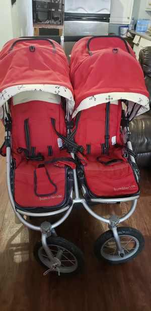 Bumbleride double stroller for Sale in Newton, MA