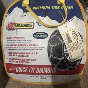 Les Schwab tire chains for Sale in SeaTac, WA