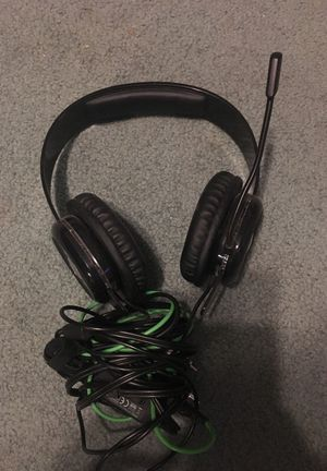 After glow Xbox 360 gaming headset for Sale in College Park, MD