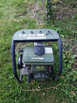 Pressure washer, gas 2.5hp engine for Sale in Seattle, WA