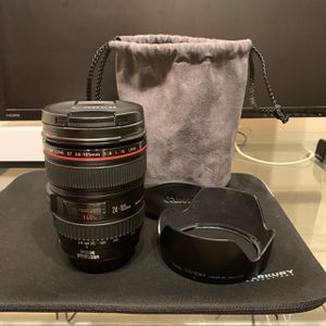 Canon EF 24-105mm f/4L USM lense for Sale in Omaha, NE