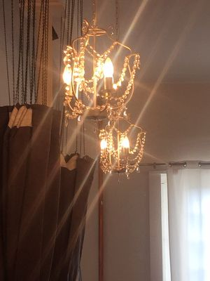 Two small chandeliers for Sale in Houston, TX