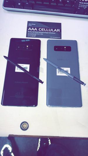 Samsung Note 8 64GB Unlocked (Verizon, AT&T, T-Mobile, Cricket, Metro!) for Sale in Arlington, TX