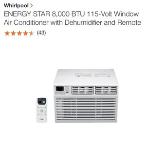 Window Whirlpool 3in1 A/c for Sale in The Bronx, NY