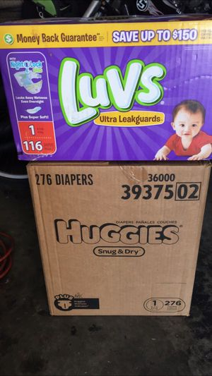Size 1 diapers for Sale in Henderson, NV
