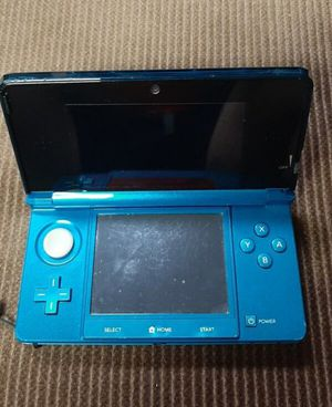 Aqua Blue Nintendo 3DS for Sale in Yalesville, CT