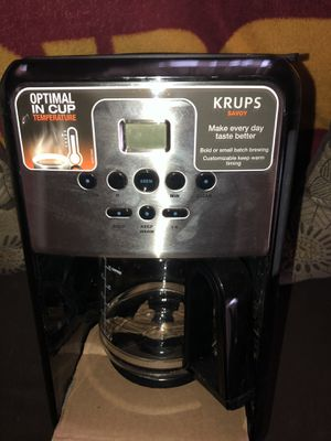 Brand new krups coffee ☕️ mAker for Sale in Rockville, MD