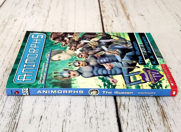 Animorphs #33 The Illusion K.A. Applegate Scholastic Paperback Book