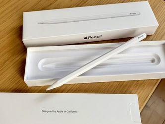 NEW APPLE PENCIL 2 STYLUS PEN iPAD + WARRANTY for Sale in Fresno,  CA