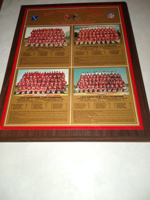 San Francisco 49ers team of the 80s limited edition for Sale in Columbia, SC