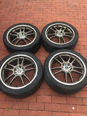 TENZO R RIMS AND TIRES for Sale in Mount Rainier, MD