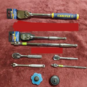 """Snap-on, Craftsman, Napa Carlyle Ratchets 1/4"""" 3/8"""" 1/2 for Sale in Romeoville, IL"""