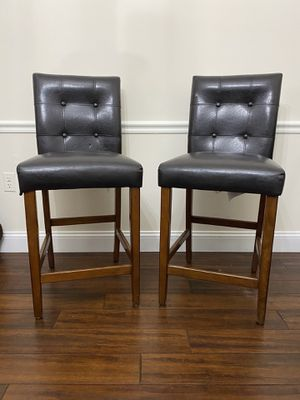 Bar stool chairs, set of two for Sale in Richboro, PA
