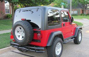 Red 2004 WRANGLER JEEP 4X4 AWDWheels Good for Sale in Buffalo, NY