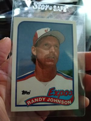 Randy Johnson 1989 Topps Rookie Baseball Card for Sale in Port Richey, FL