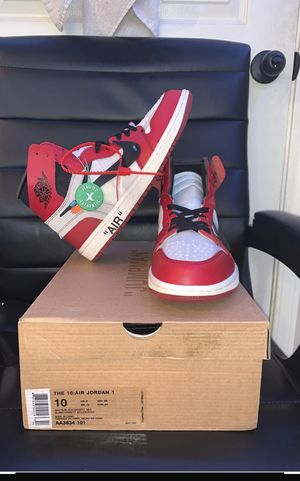 Jordan 1 Off-White size 10 for Sale in Cartersville, GA