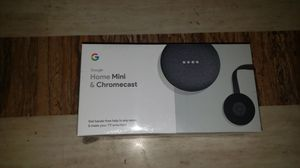 Google home mini and chromecast for Sale in Lorain, OH
