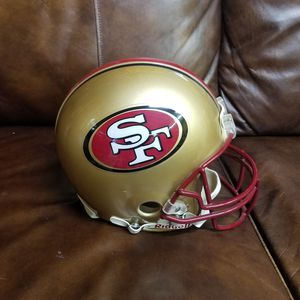 Authentic SF 49ers Football Helmet for Sale in Seaford, DE