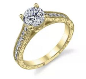 925 Silver& Gold Wedding Set Rings for Women White Sapphire Size 8 for Sale in Copan, OK