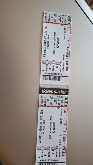 Godsmack 10.18.19 for Sale in Tulsa, OK