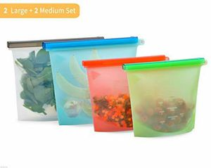 New 4 pack Silicone Storage Bags Reusable for Sale in Hawthorne, CA