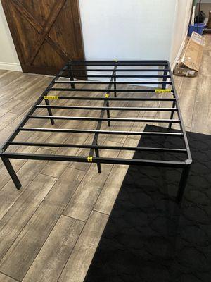 "Full size platform bed bed frame. Brand new 16"" tall FULL for Sale in Surprise, AZ"